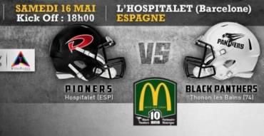 L'Hospitalet Pioners vs Thonon Black Panthers