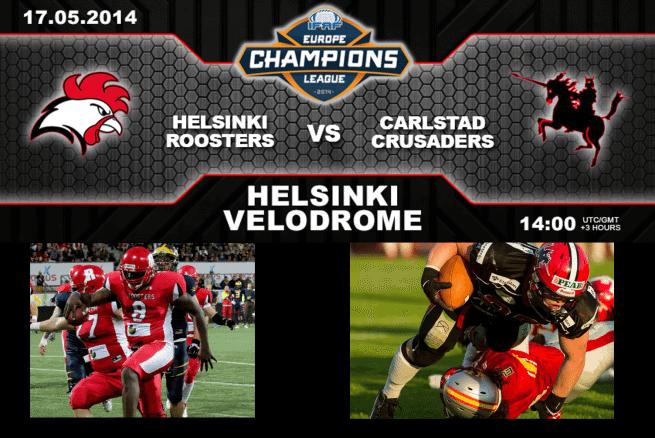 Preview: Helsinki Roosters vs. Carlstad Crusaders